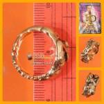 X1 THAI AMULET RING YIN-KU-RAK LOVE CHARMMING FREE SIZE COPPER LP NEN 2551